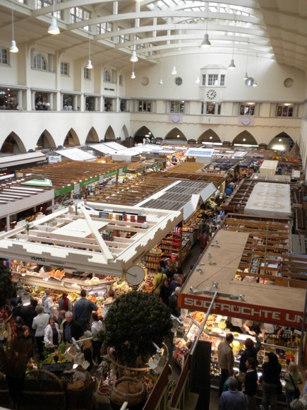 Inside Stuttgart's Market Hall