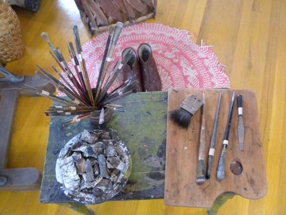 Diego Rivera's Studio: Tools of the Trade