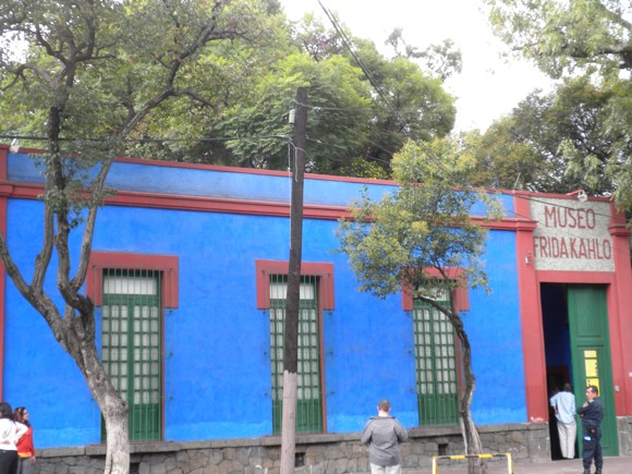 Casa Azul: Frida Kahlo's Home, Birth Place and Death Place