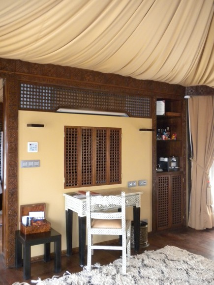 Berber Tent Suite Detail