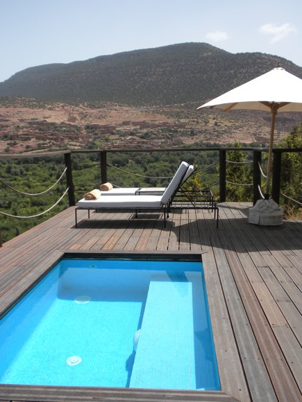 Berber Tent Suite Private Plunge Pool