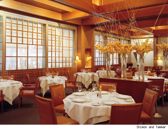 Le Bernardin in New York is nominated for a Luxist Award for Best Seafood Restaurant