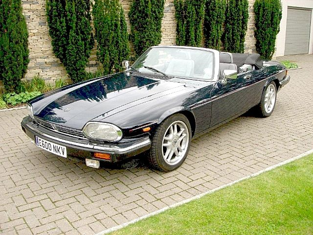 The Duchess of York's 1988 XJS