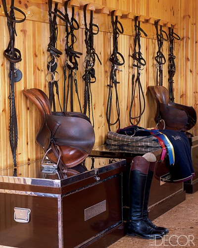 Tack room