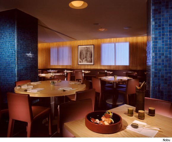 Nobu in Miami is nominated for a Luxist Award for Best Seafood Restaurant