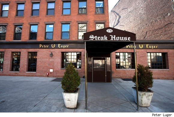 Peter Luger steakhouse is nominated for a Luxist Award for Best Steakhouse