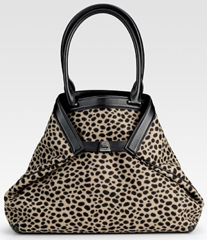Akris Dalmation Print Bag