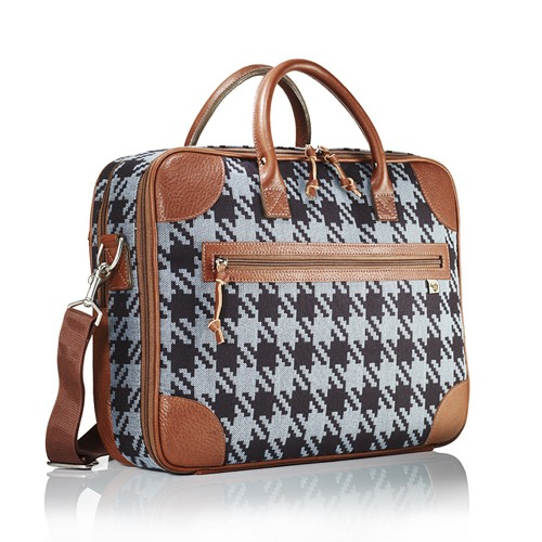 Plaid Doctrine Briefcase, Handbag of the Day