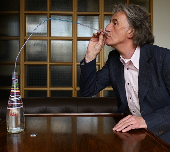 Paul Smith and Evian