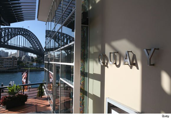 Quay in Sydney is nominated for a Luxist Award for Best International Restaurant