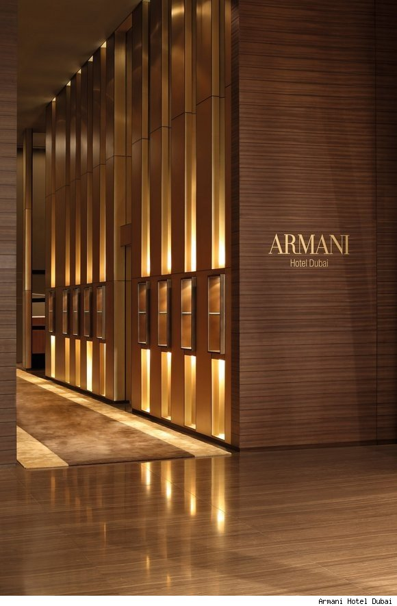 The Armani Hotel Dubai.