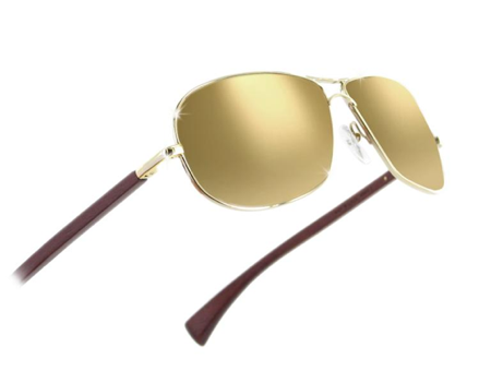gold sunglasses