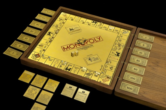Gold Monopoly Game