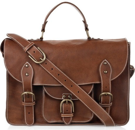 Aubin & Wills Leather Satchel
