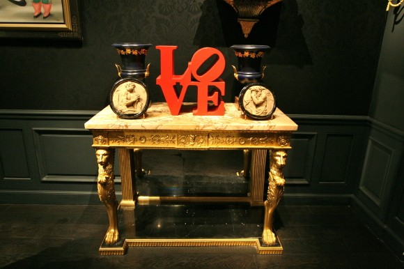 Anne-Marie Monin Love Sculpture