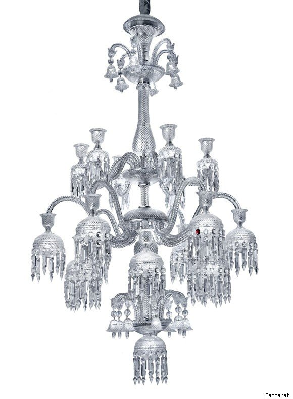 Baccarat's Solstice Comete chandelier