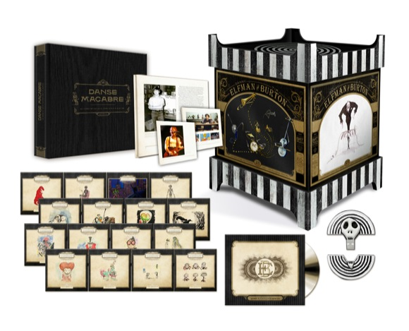 Elfman Burton Anniversary Music Box