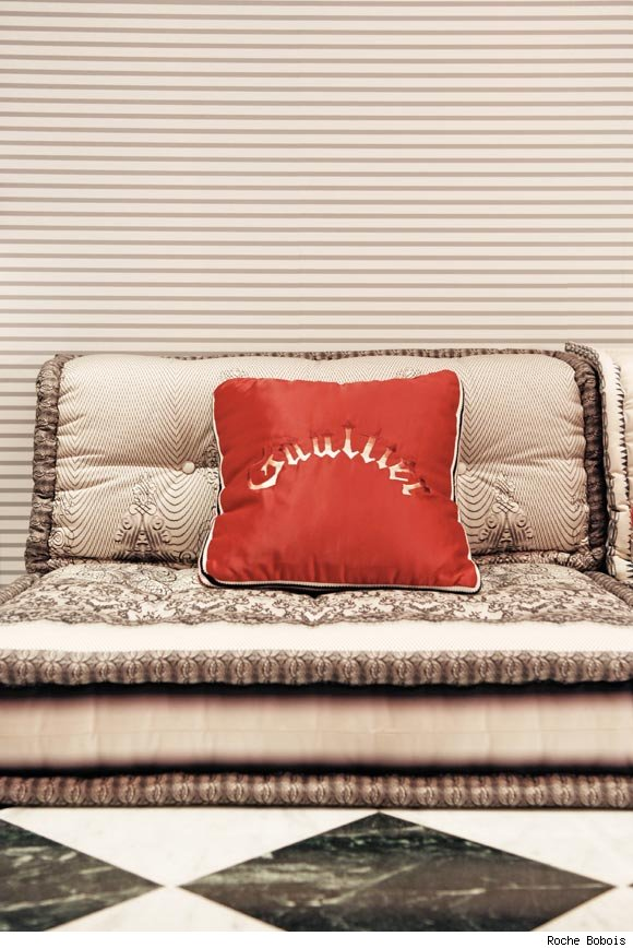 Jean Paul Gaultier's pillows