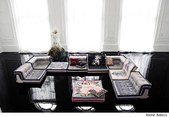 Jean Paul Gaultier's Mah Jong Couture modular sofa