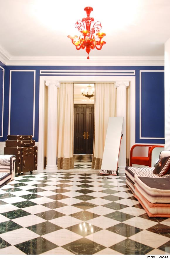 Kips Bay Decorator Showhouse features the new Jean Paul Gaultier collection for Roche Bobois