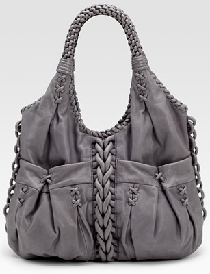 Lockheart Cadence Braided Hobo Bag