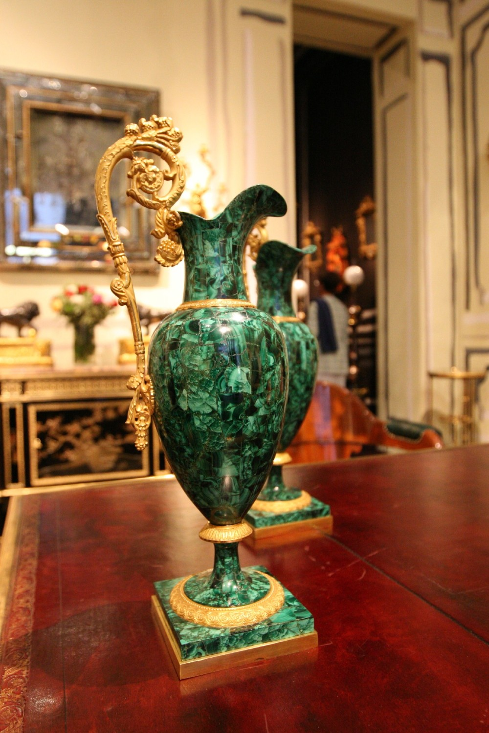 Malachite Vases