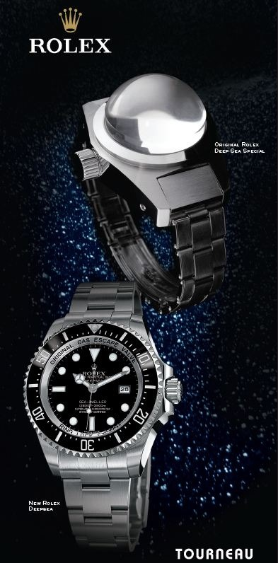 aside from having other watches at the event youll be able to view the original rolex deep sea special watch along with those from the new collection