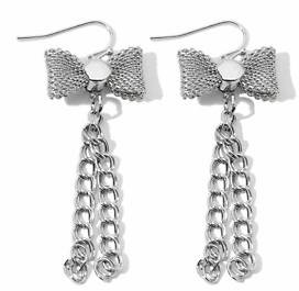 serena williams bow earrings