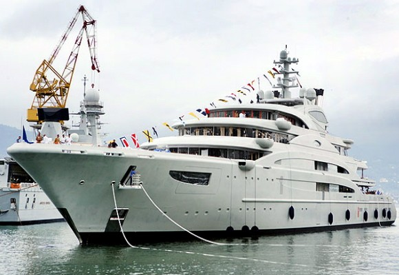 serene 10 Biggest Yachts In The World