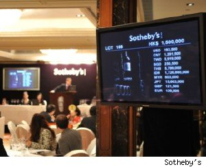 Most Expensive Wine Sells At Auction In Hong Kong