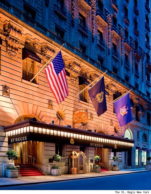 NYC & Co. Announces Third Night Free Promition at 16 Luxury Hotels including The St. Regis