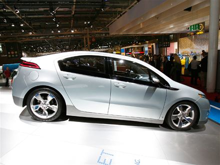 Chevy Volt Design