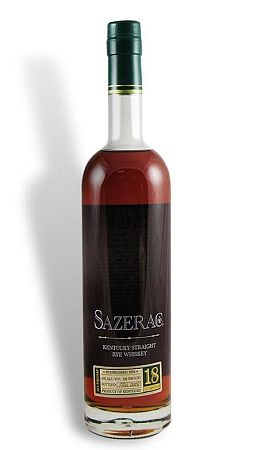 Sazerac 18 Year Straight Rye Whiskey