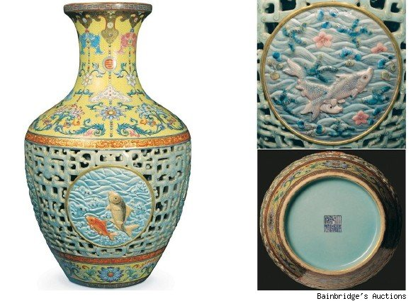 Chinese Vase Sets New World Record