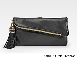 Derek Lam Albertine Leather Clutch