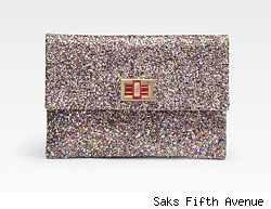 Anya Hindmarch Multi-Glitter Clutch