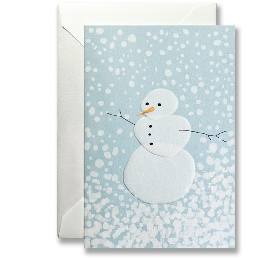 Shimmering Snowman
