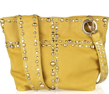 Sara Berman Studded Leather Bag
