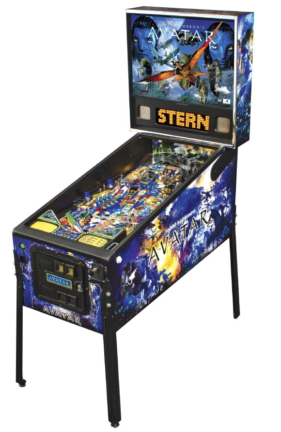 stern pinball avatar