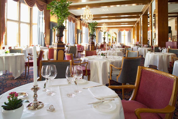 Le Restaurant at Badrutt's Palace Hotel