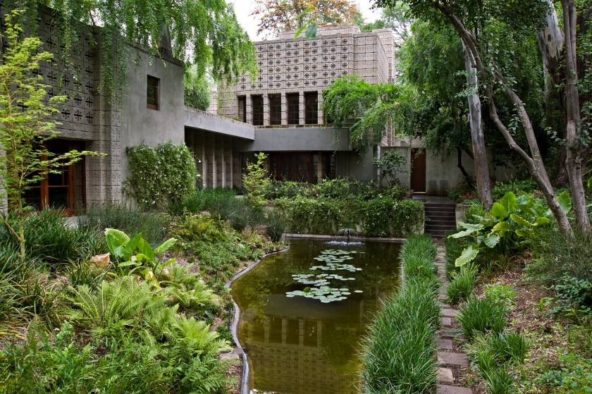 Millard house for Frank lloyd wright houses in california