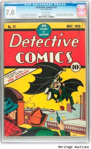 batman comic detective comics #27