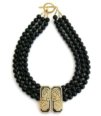 Elva Fields Edge of Darkness Necklace
