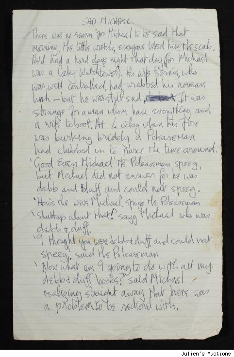 John Lennon Working Prose