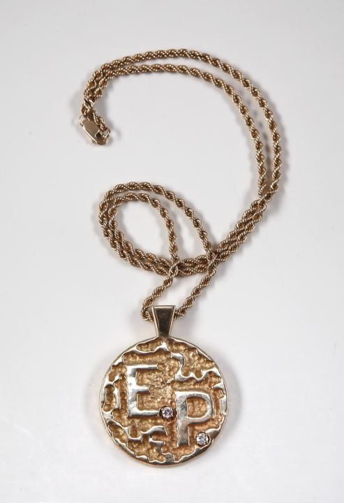 Elvis Presley E.P. Necklace