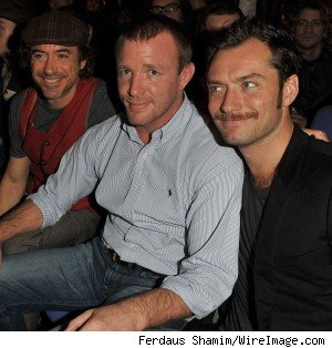 guy ritchie robert downey jude law