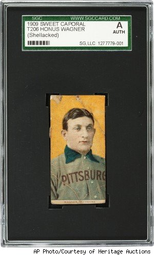 honus wagner baseball card