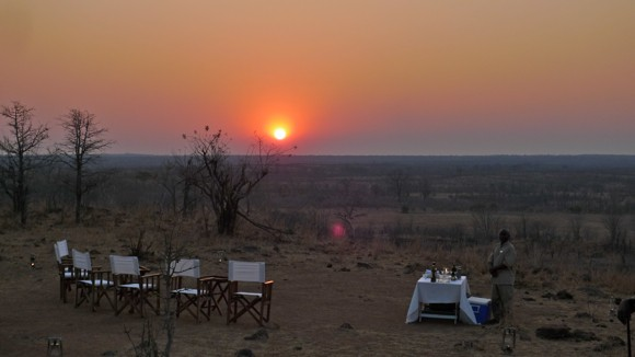 Sundowners in South Luangwa National Park