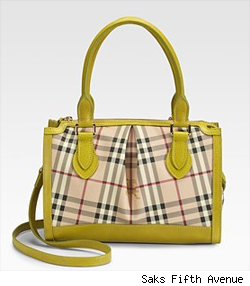 Burberry Small Check Shoulder Bag