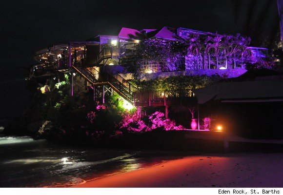 New Years' Eve Party at Eden Rock, St. Barths